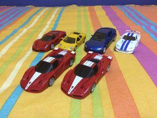 Lote de coches de juguete