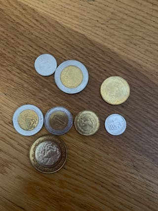 Monedas Mexico