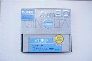 Cámara MINOLTA ZOOM 80