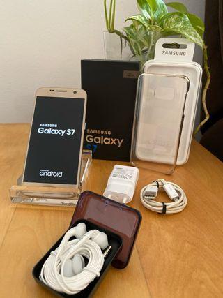 Samsung Galaxy S7 color dorado