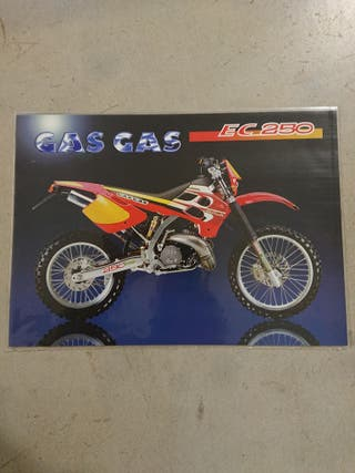 catálogo técnico original moto GAS GAS EC 250