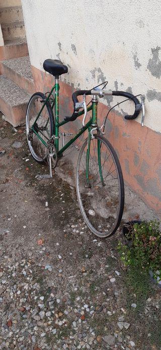 bicicleta de ciclismo antigua urge venta