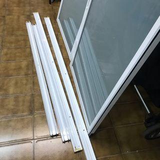 Mampara de baño 175cmx144cm