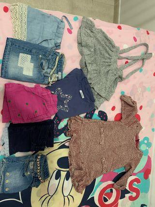 Pack ropa niña 3-4 años