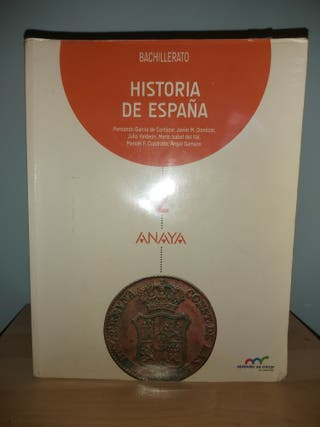 Historia de España ANAYA 2°Bachillerato