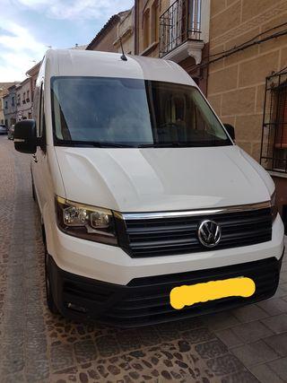 Volkswagen Crafter 2018,no incluido el iva .la furgoneta a echo un buen rodaje,siempre garaje desde el primer dia esta para un restreno.si t interesa al 618 533 826 (NO CAMBIOS NI OFERTAS)