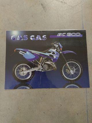 catálogo técnico original moto GAS GAS EC 300