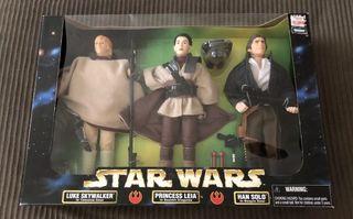 Pack triple de figuras Star Wars (30 cm)