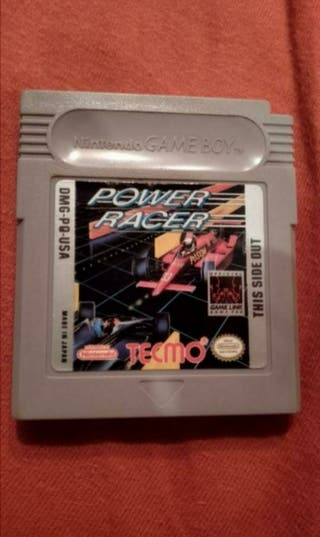 Power Racer Game Boy