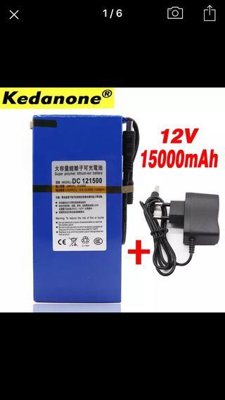 Batería 15000 mah 12v