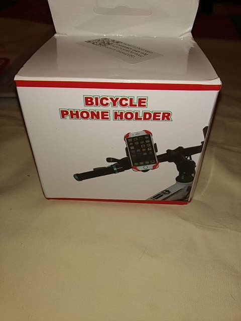 Soporte de móvil para bicicleta