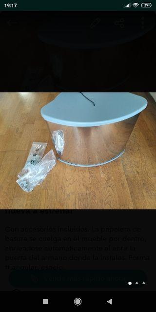 cubo de basura de diseño nueva a estenar