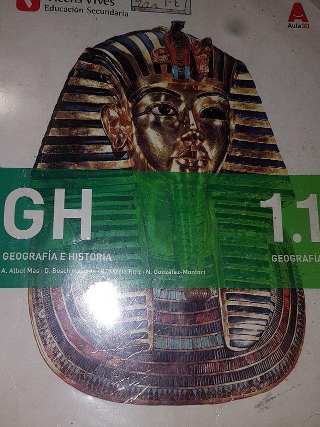 Libros geografia e historia 1 eso