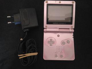 Consola Gameboy Advance SP Rosa