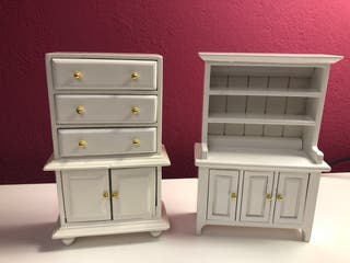 Lote muebles miniaturas