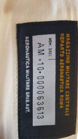 Camisa Aeronáutica Militare talla M