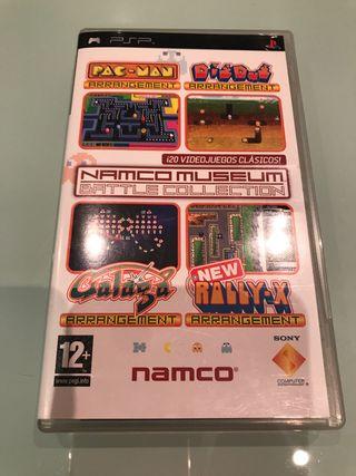 Namco Museum juego PSP