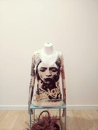 Camiseta manga larga de Desigual