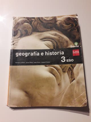 Libro de Geografia e historia 3eso