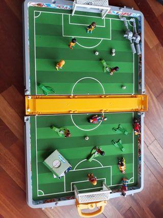 campo futbol playmobil