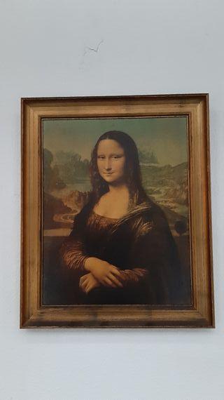 Cuadro Mona lisa. Gioconda