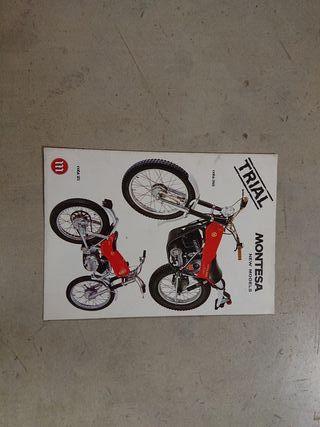 catálogo técnico original moto trial MONTESA COTA