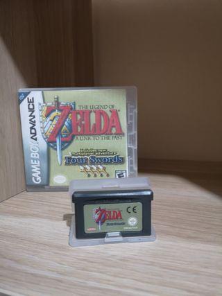 Zelda four swords (game boy advance)