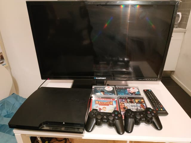 Blaupunkt TV 32'' + Play Station 3