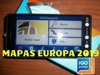 iGO Primo Europa 2019 Mapas/Radares