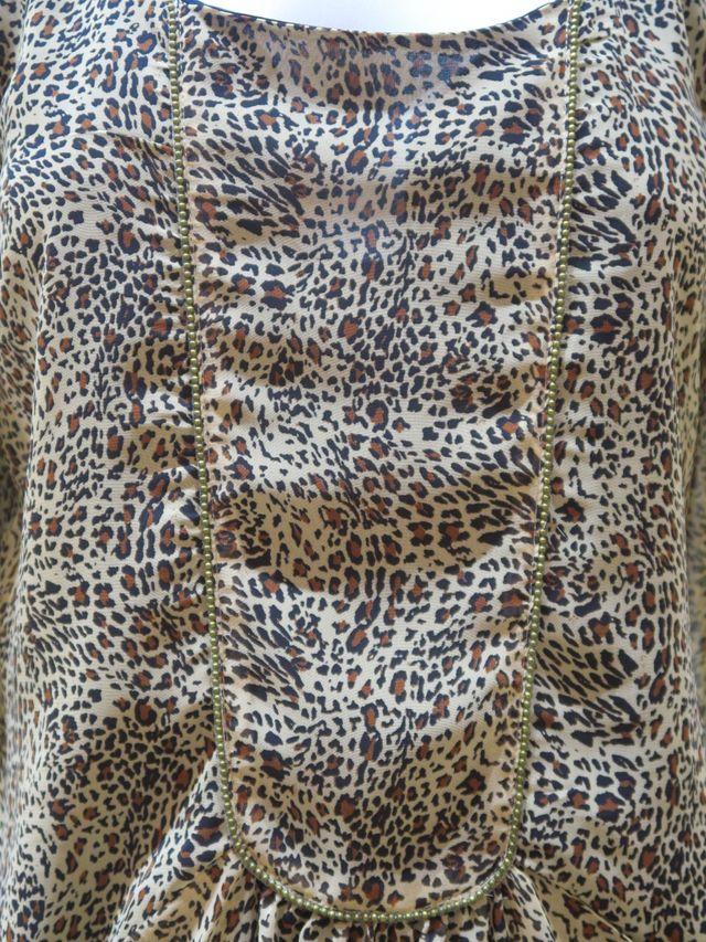 Vestido animal print Pull&Bear