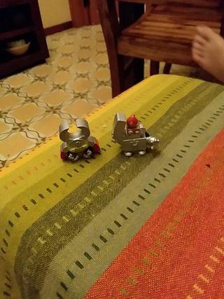pinza y encendedor