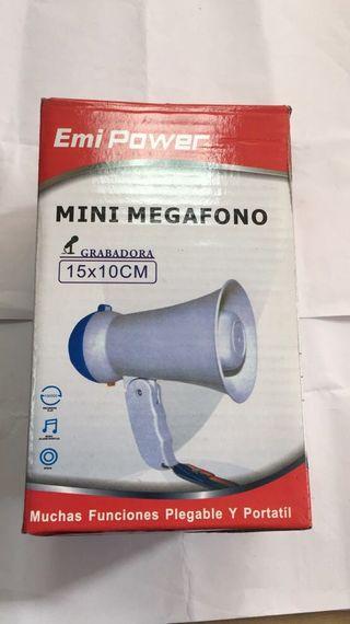 Mini megáfono