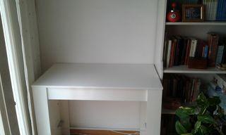 Mesa aparador extensible