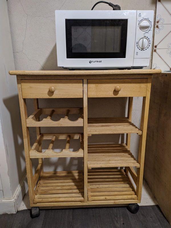 mueble auxiliar cocina, verdulero con ruedas
