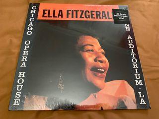 ELLA FITZGERALD CHICAGO OPERA Disco vinilo LP