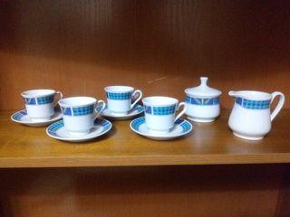 Set té/café porcelana