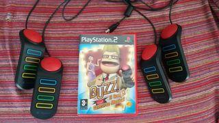 Buzz el mega concurso PS2