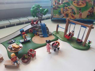 Juguetes parque Playmobil