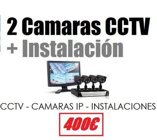 INSTALACION CAMARAS DE VIGILANCIA SEGURIDAD CCTV