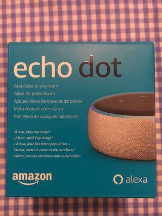 Amazon Alexa echó dot