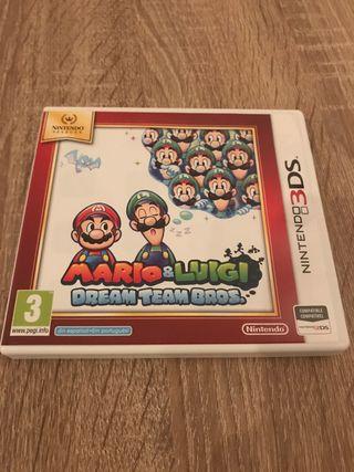 Mario&Luigi Dream Team Bros