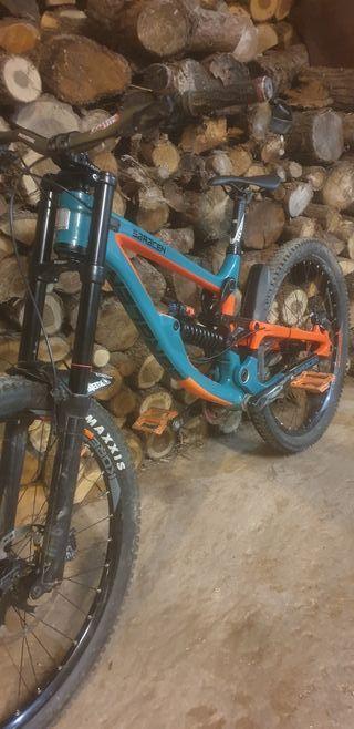 Bicicleta saracen myst pro carbon 2018