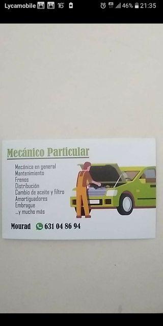 mecánico particular
