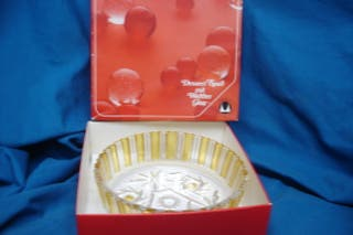 FUENTE DE CRISTAL ORIGINAL WALTHER GLASS - MADE IN