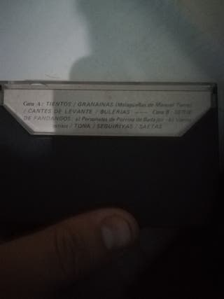 cinta cassete