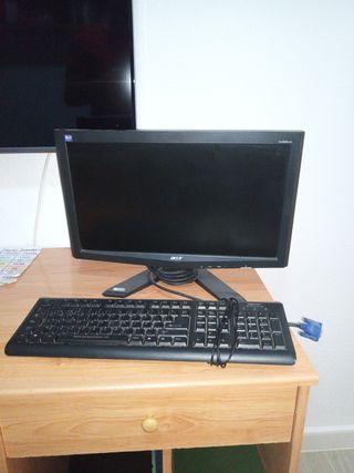 monitor ACER +teclado