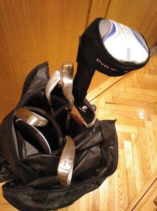 Juego de palos de golf Inesis (mujer)