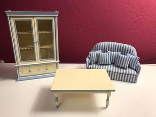 Lote miniaturas salón
