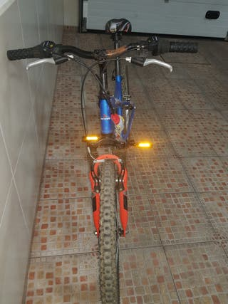 bicicleta mountain bike 24""