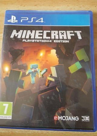 vendo minecraft para PS4